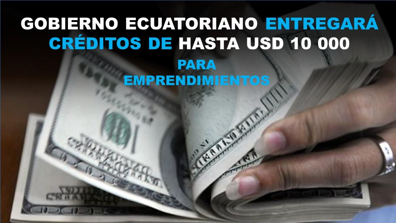 Gobierno Ecuatoriano dará créditos a mujer emprendedoras en Ecuador