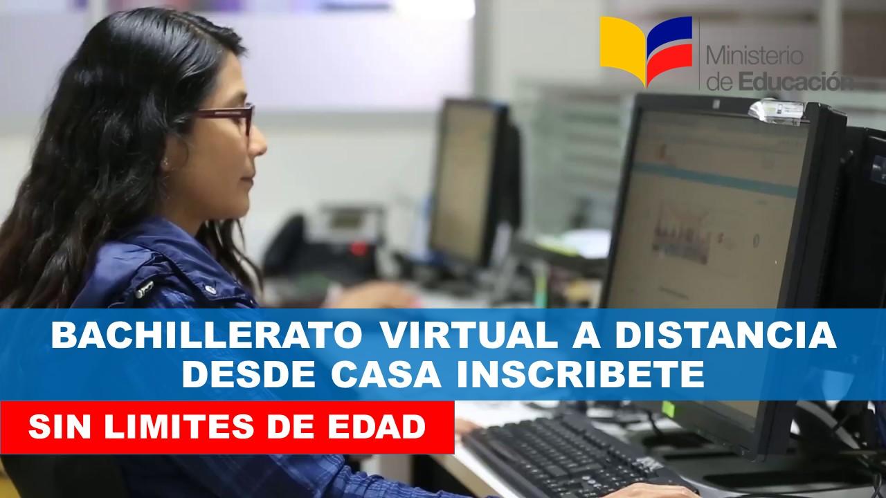 Bachillerato virtual Ministerio de Educación