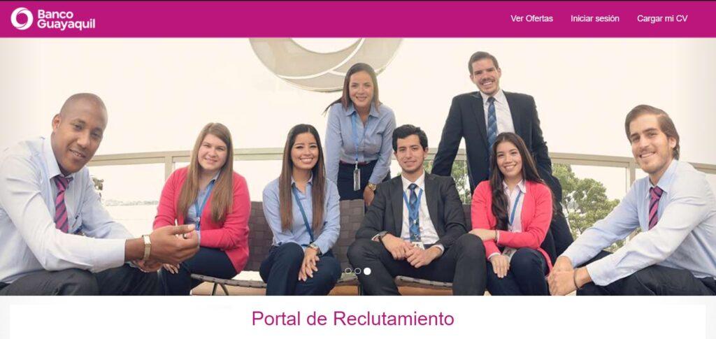 banco guayaquil vacantesolicitud de empleo banco de guayaquilbanco del pacífico trabajoofertas de trabajo en el banco banco bolivariano trabaja con nosotrosempleo banco internacional banco produbanco trabajovacantes banco pichincha